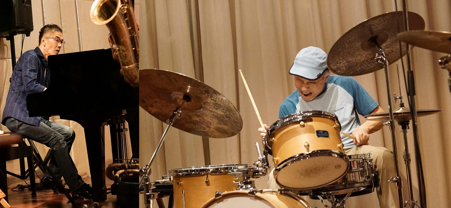 《 Creative Improvisation Part5 豊住芳三郎 × 照内央晴 》
