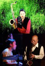 「熱帯の旅人来る!」Arrington de Dionyso +坂田明 +山本達久