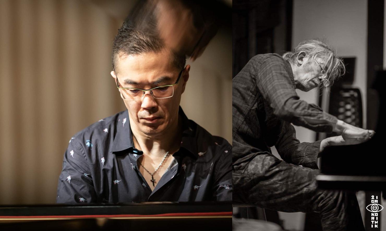 千野秀一 piano+照内央晴 piano Duo
