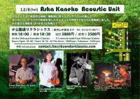Aska Kaneko~Acoustic Unit