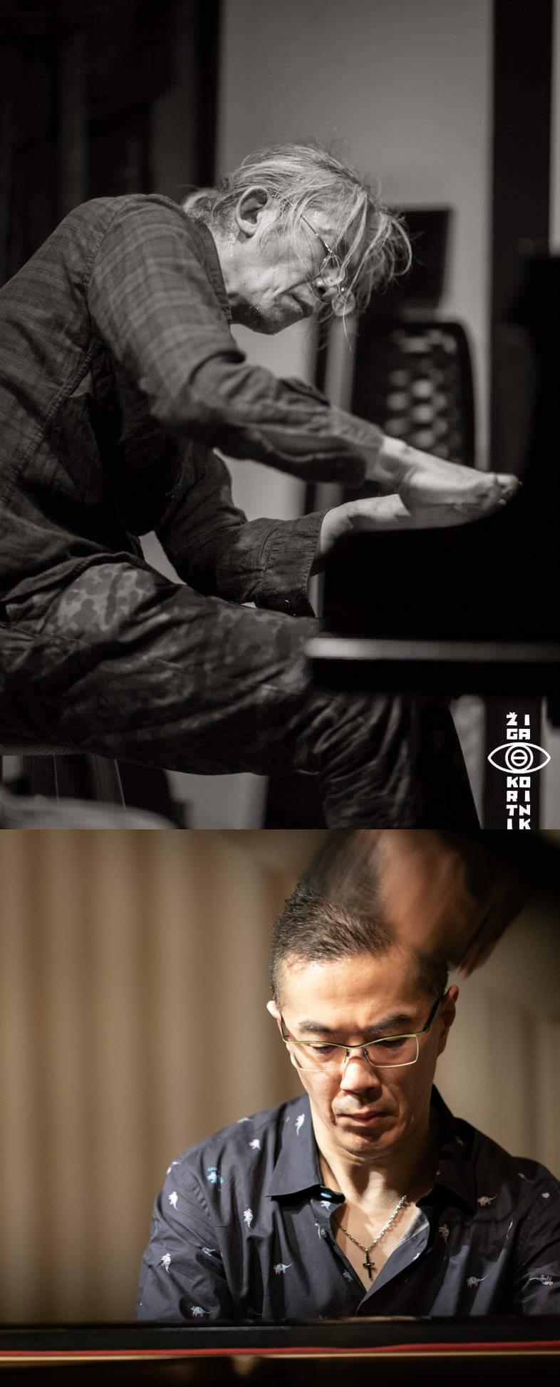 《千野秀一×照内央晴 2台のグランドピアノによる即興演奏》
