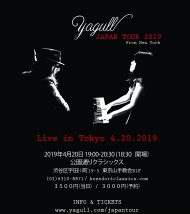 - A Marriage of Piano and Guitar -  Yagull Japan Tour 2019  アコースティックデュオ from New York