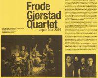 Frode Gjerstad Quartet Japan Tour 2019