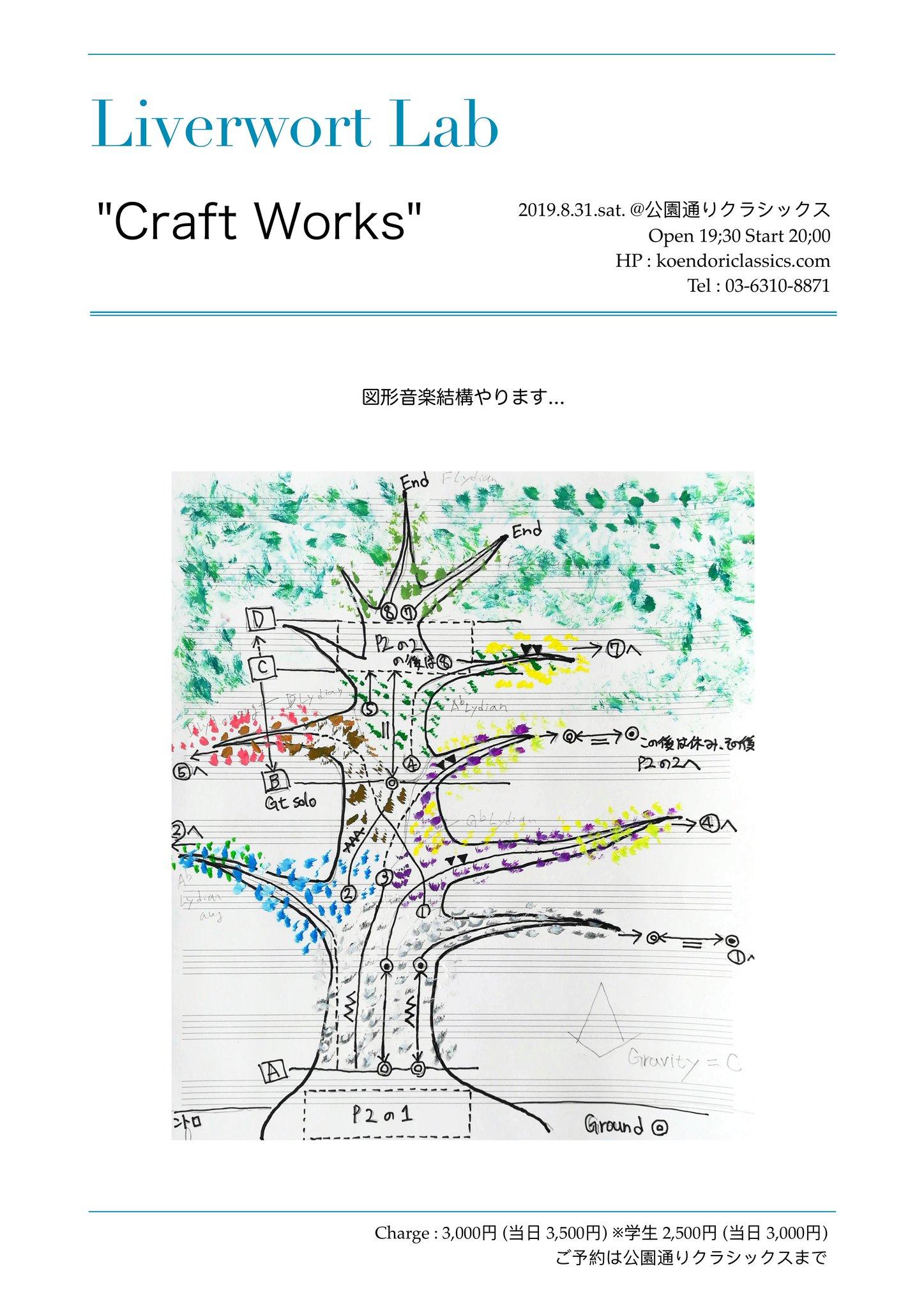 """""""Craft Work""""〜Liverwort Lab"""