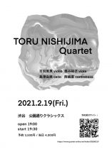 TORU NISHIJIMA Quartet